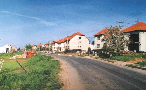 Pohled načást obce odStříbrnic
